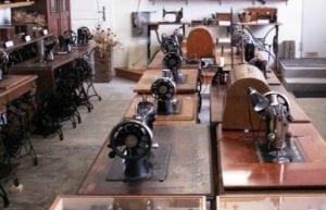 Nähmaschinenmuseum im alten Feuerwehrhaus Sasendorf