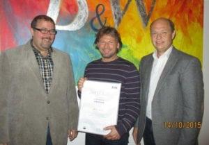 Zertifikat: 100 % Strom aus erneuerbaren Energieträgern
