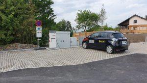 Neue E-Tankstelle in Betrieb