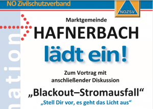 Black Out – Informationsveranstaltung 11.10.2019