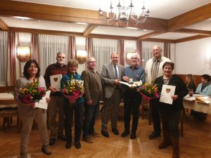 Goldenes Ehrenzeichen für Anton Fischer
