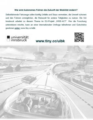 Umfrage der Universität Innsbruck