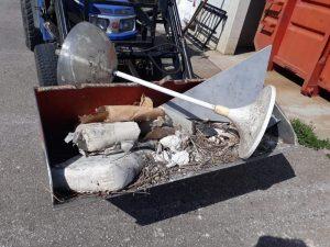 Unachtsame Müllentsorgung – wird zur Anzeige gebracht!
