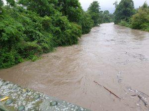 Hochwassergefahr in Hafnerbach