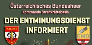 Auffinden explosiver Kriegsrelikte – Wichtige Information!