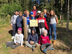 Waldpädagogiktag der 4. Klasse am 6.10.2020