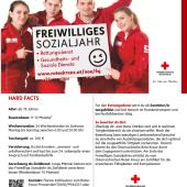 Freiwilliges Sozialjahr – eine Information des Roten Kreuzes Prinzersdorf