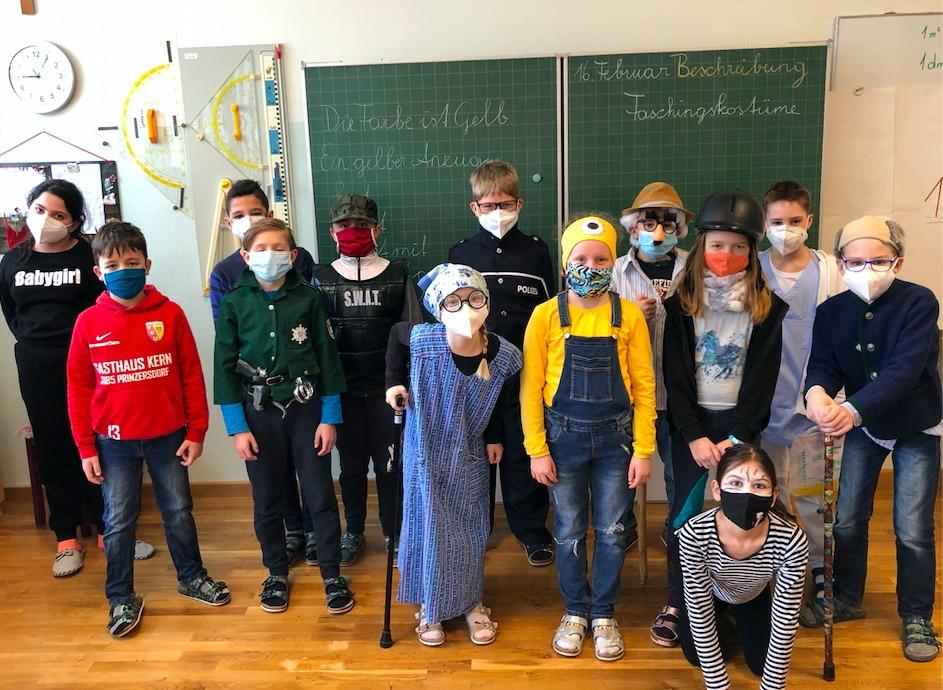 Die 4.Klasse verbrachte gemeinsamen einen lustigen Vormittag.
