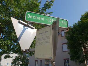 Straßennamen in unserer Gemeinde